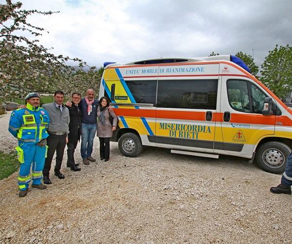 ambulanza Groupama
