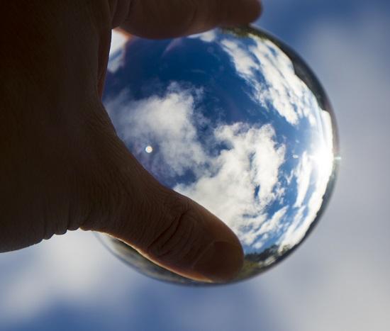 sfera di cristalloo