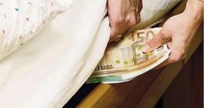 soldi sotto materasso